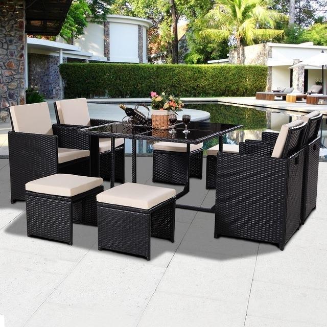 com : Giantex 4pc Patio Sectional Furniture Pe Wicker Rattan Sofa  Set Deck Couch Outdoor : Patio, Lawn & Garden