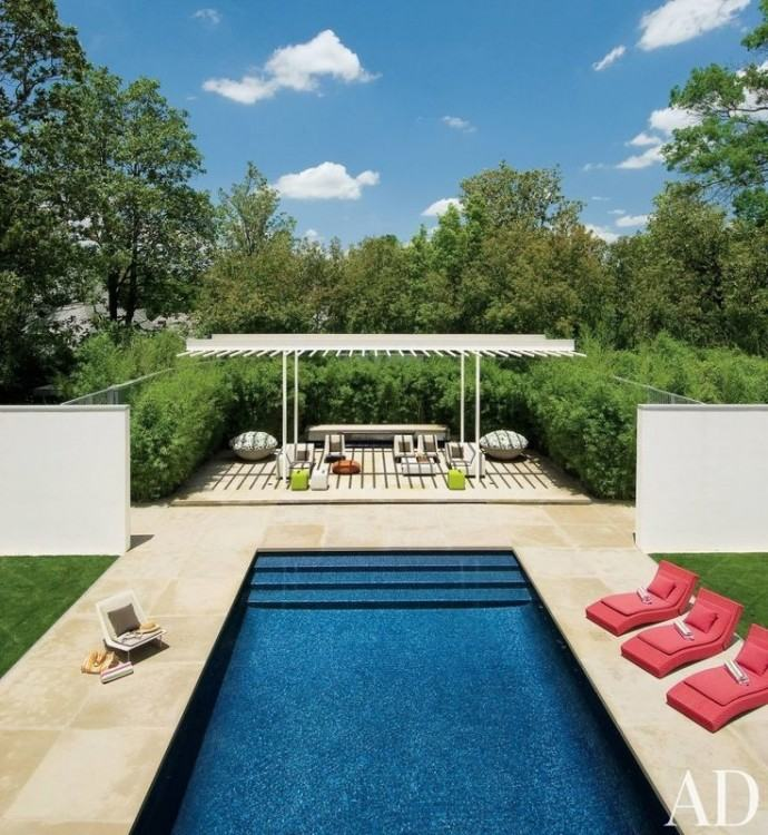 We have a nice line up of large rectangle fiberglass pools