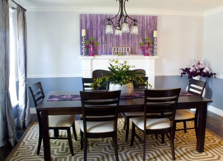 purple dining rooms purple dining room e dining room table and chairs new  with modern candles