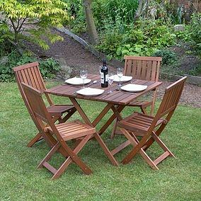 Better Homes Gardens Bhg Lynnhaven Park 5pc Outdoor Dining Se From Walmart  Outdoor Dining Room