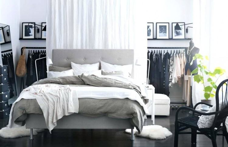 ikea white bedroom