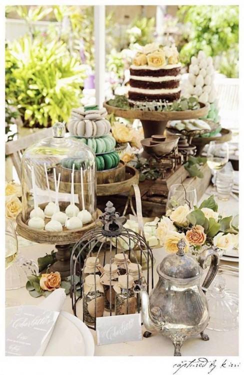 outdoor wedding decorating