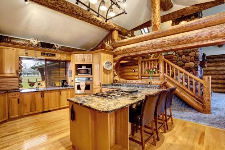 cabin kitchen cabinets
