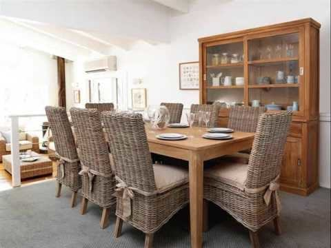 rattan wicker dining sets