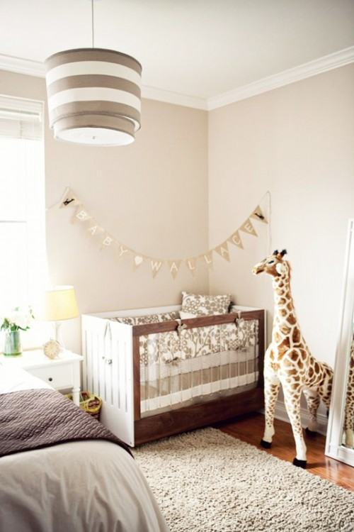 Veronica  Vazquez · shared master bedroom and nursery