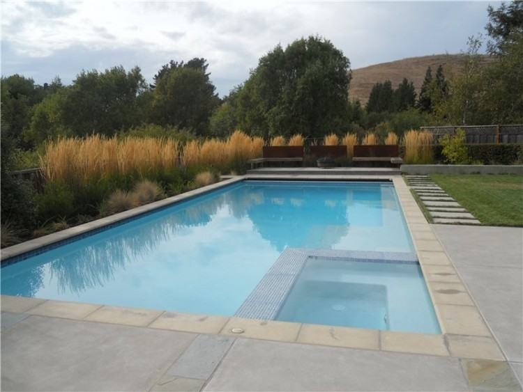 Swimming Pool Awesome Deck Designs With Infinity Gallery Including Stamped  Concrete Decks Inground