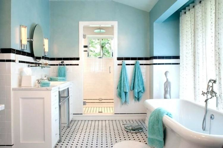 blue bathroom tiles ideas