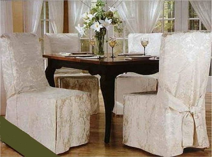 Dining Room Chair Covers to Improve the Look on Your Dining Room |  BellesOfBedlam
