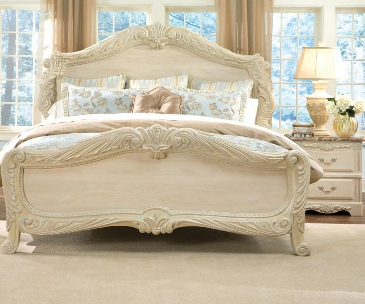 white cream bedroom furniture