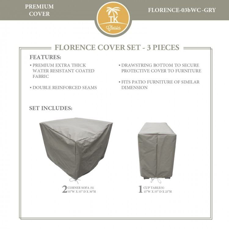 water resistant patio chair covers bee 6 piece furniture cover set classics