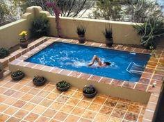 small inground pool ideas cute small pools for small yards with simple pool  ladder stainless ideas