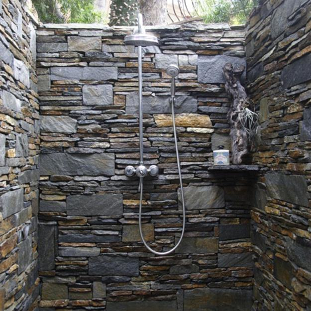 #tile | Outdoor Space Design  Inspiration | Pinterest | Outdoor, Outdoor baths and Shower