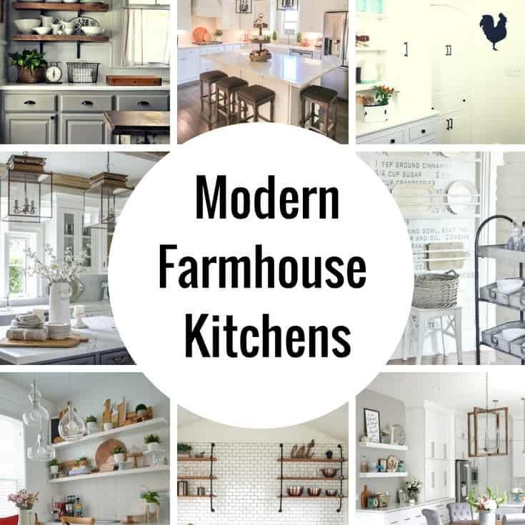 Undermount sinks are a hallmark of the modern farmhouse look