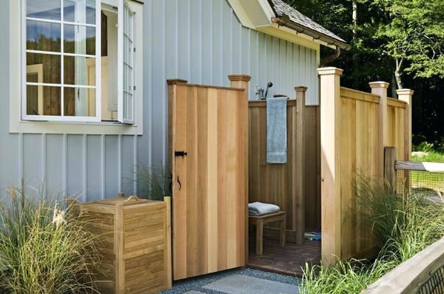 portable outdoor shower enclosure homemade ideas with simple design