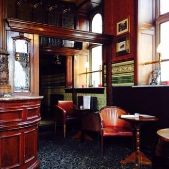 The Philharmonic comes at the top of the  list thanks to its Grade II listed Gents' toilets, but it also scores top  points for