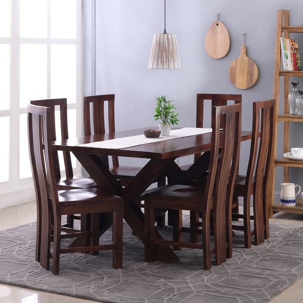 6 seater table and chairs top 6 dining table online six dining table set  inside dining