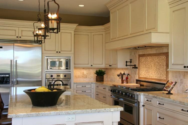 Medium Size of Kitchen: Backsplash Ideas For Kitchen Walls Simple  Combination Tile Backsplash Design For