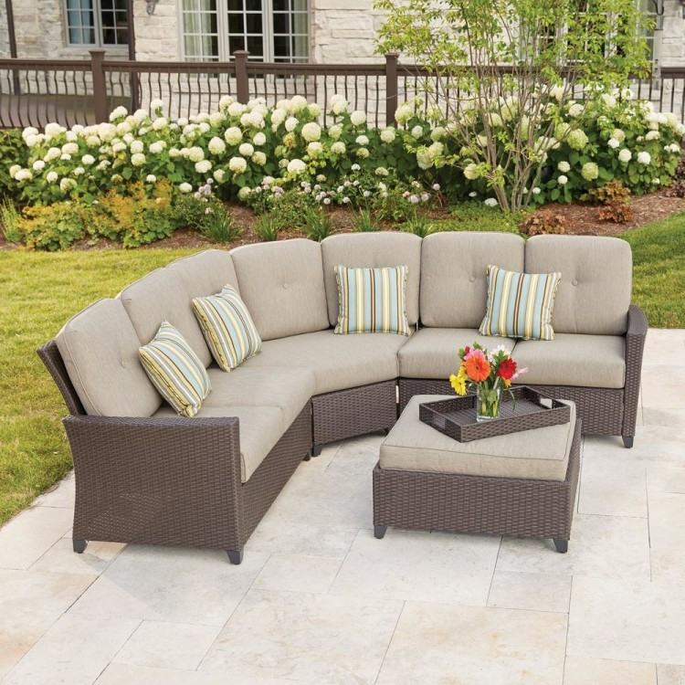 curved sectional outdoor furniture sectional sofa design outdoor