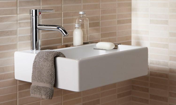 smallest bathroom small bathroom sink ideas brilliant home decor affordable  half baths and bath intended for