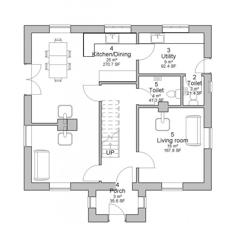 Classy Design Ideas Dormer House Plans Designs Bungalow Floor With Uk