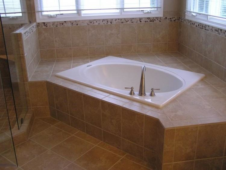 corner bathtub ideas
