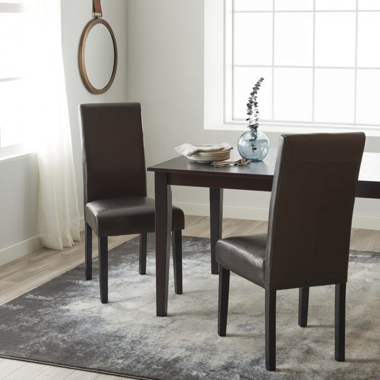 Full Size of White Faux Leather Dining Chairs And Table Oak Room Superb  Best Furniture Alluring
