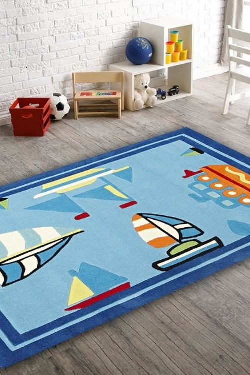 Color: Jake and The Never Land  Pirates Rug