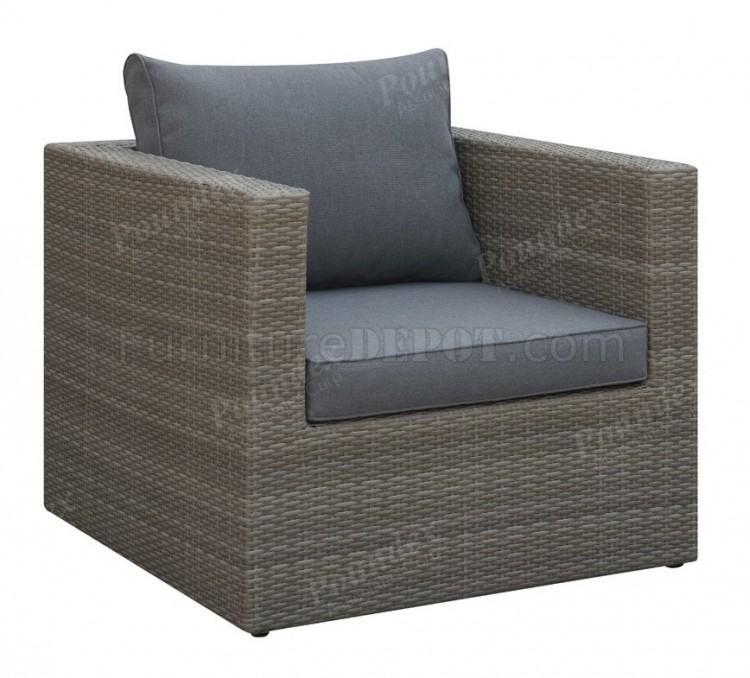 Lizkona Outdoor Patio 6 Pcs Tan Sectional Sofa Set By Poundex Furniture