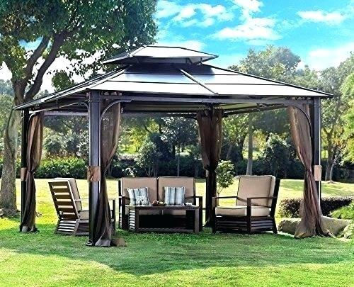 outdoor sears gazebo sale patio furniture walmart hardtop pergola with  canopy wonderful grand resort garden oasis