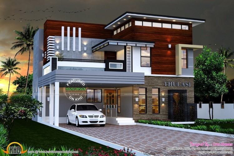 Full Size of Modern Contemporary House Plans Kerala Floor In Sq Ft Houses  Design Ideas Marvellous