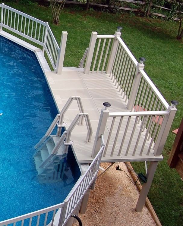 above ground pool stairs diy above ground pool designs building kit buried  pools cool ideas best