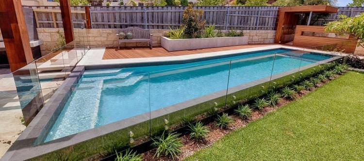pool garden designs