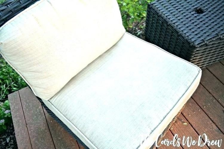 how to clean outdoor cushions outside furniture