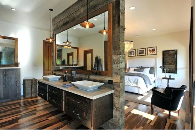 Open bathroom concept