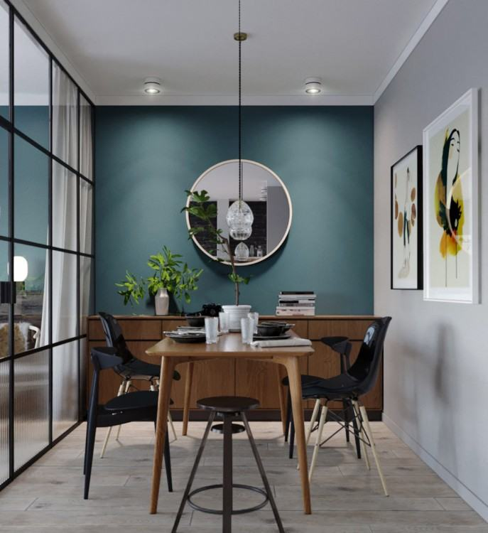 With a separate kitchen, dining and living room, it was time to knock down  the dividing walls and create one large open plan area to integrate the  kitchen,