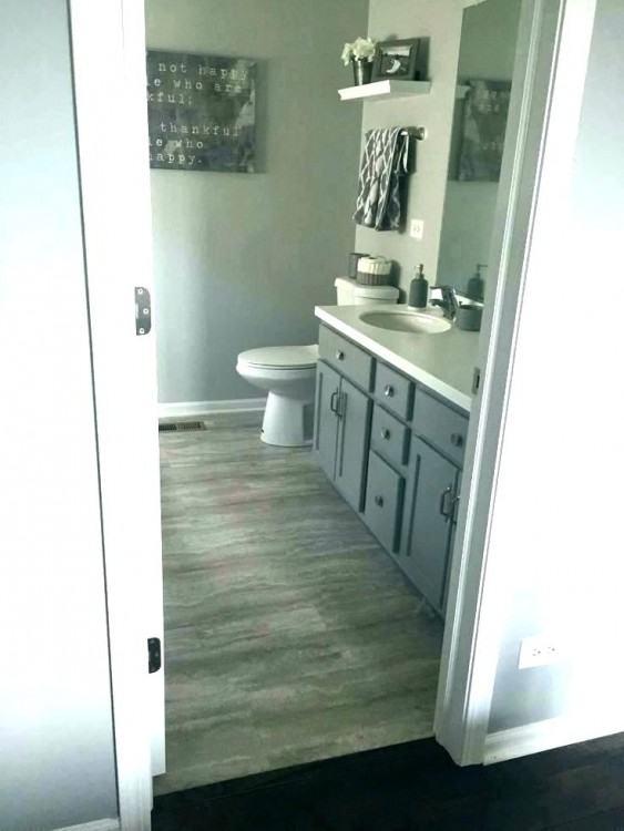 grey and beige bathroom