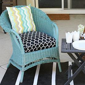 diy patio cushion no sew