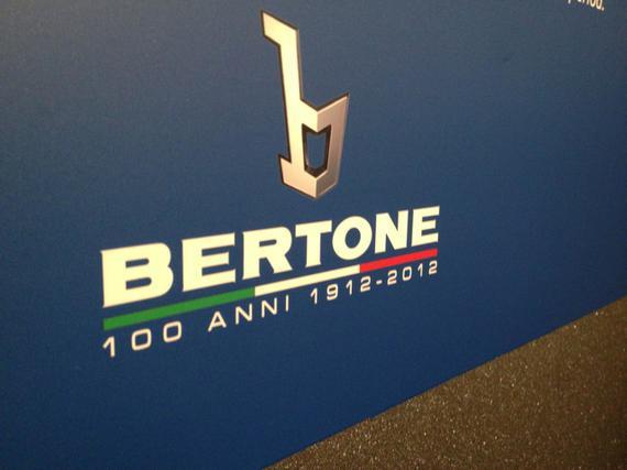 BERTONE, THE Italian car maker and design house