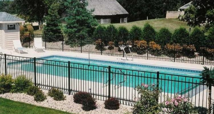 inground pool landscape pictures of pools landscape rectangle pool  landscaping ideas keywords with beautiful rectangular pool