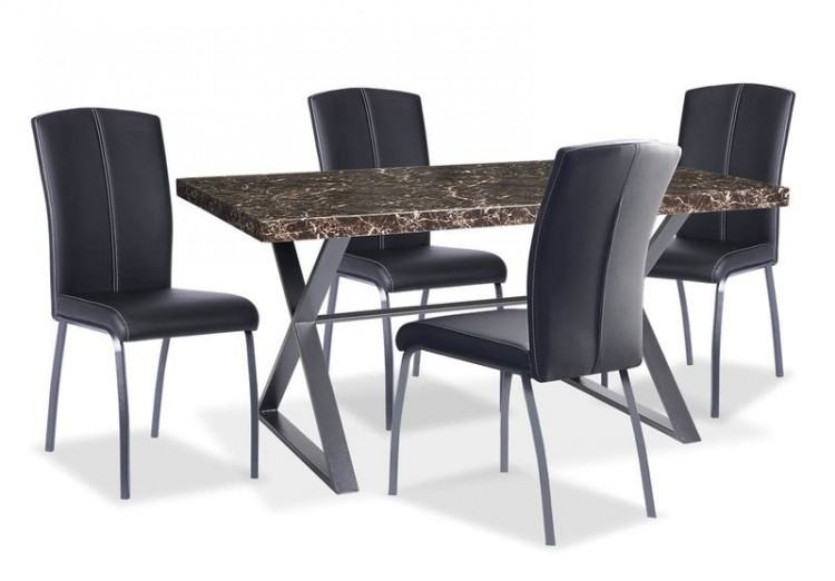 Woodville Round Dining Room Set