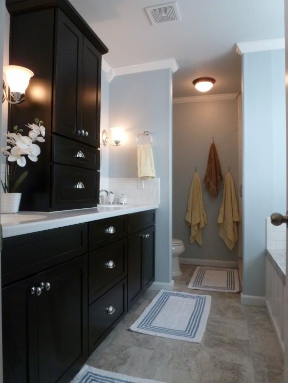 dark bathroom ideas best about black bathrooms on photo details from these  purple