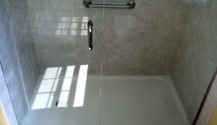Given these requirements, the options are limited but, even so, there are  plenty of shower floor ideas to choose from