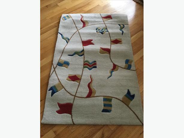 Floral Oriental Area Rug Bedroom Living Room Rugs 5 x 8 Area Rugs Wool 6  x