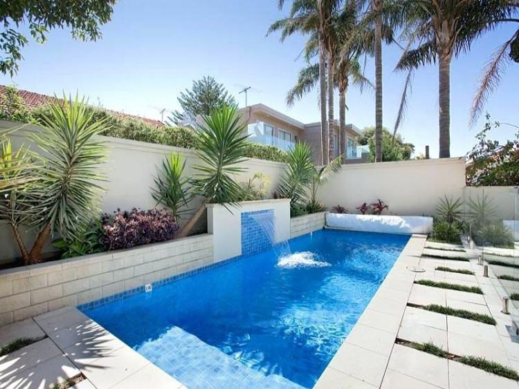 swimming pool landscape designer