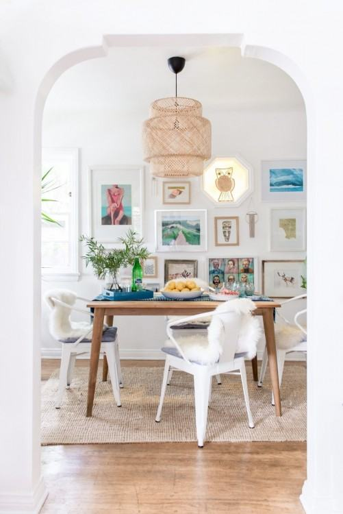 Bohemian dining rooms bring so much happiness to the room