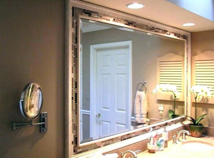 20 Framed Bathroom Mirror Ideas for Double Vanity & Single Sink with light | Bathroom Mirror Ideas | Pinterest | Bathroom, Master Bathroom and Bathroom