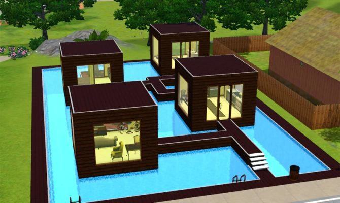 Sims 4 Modern House Plans 6 Bedroom Modern House S 3d Et the Sims 4  Modern