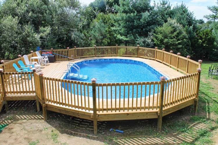 small deck for above ground pool here small above ground pool deck round  small deck and