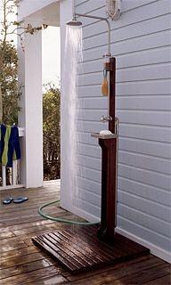 exterior shower faucet