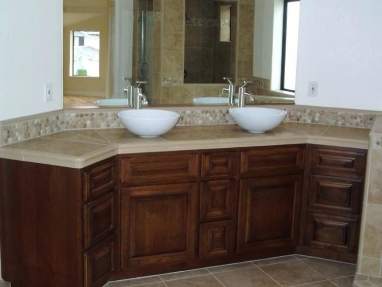 Bathroom Inspiring Bathroom Vanity Backsplash Ideas Awesome Tile within Bathroom  Vanity Backsplash Ideas
